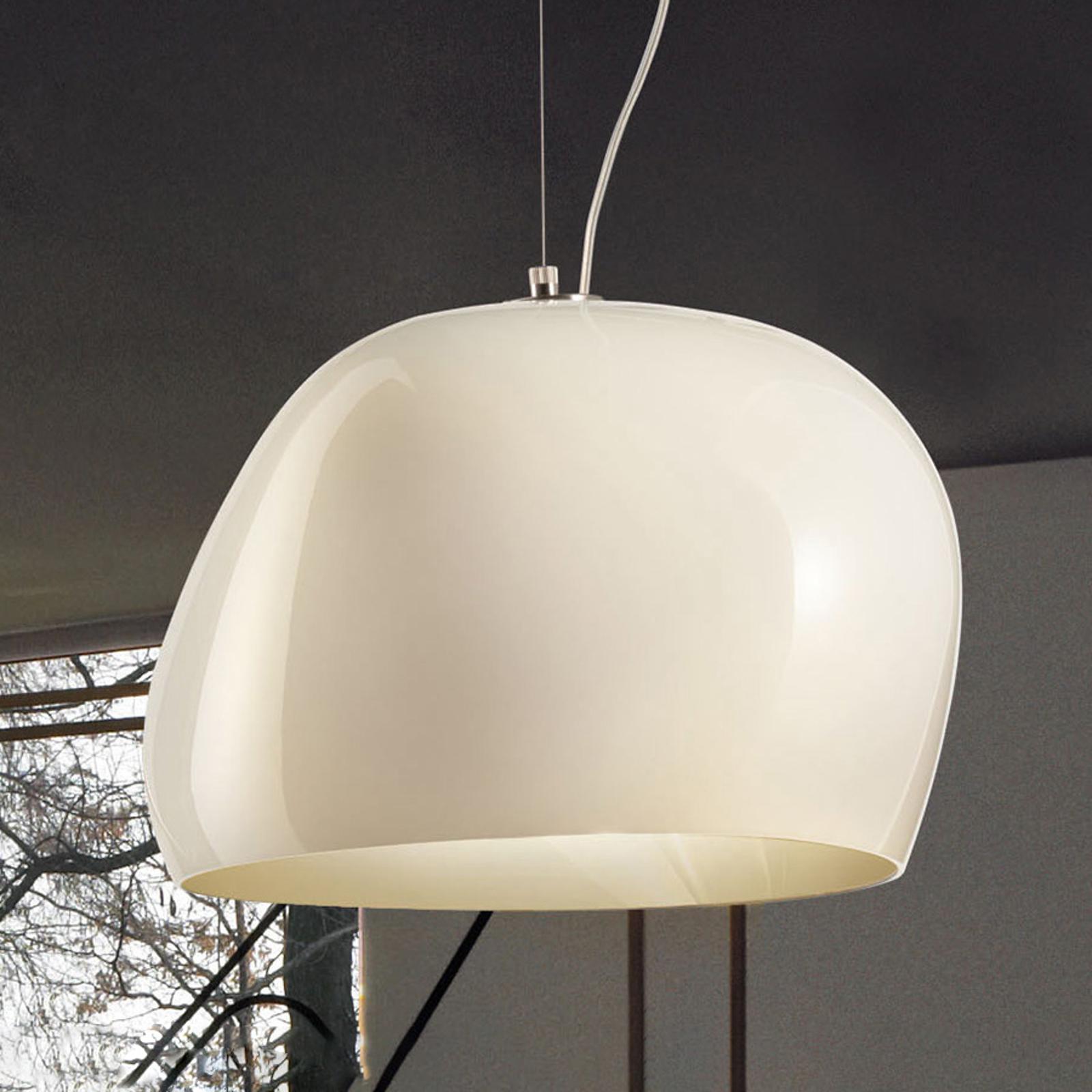 Lampa wisząca Surface Ø40cm E27 biały/matowy biały