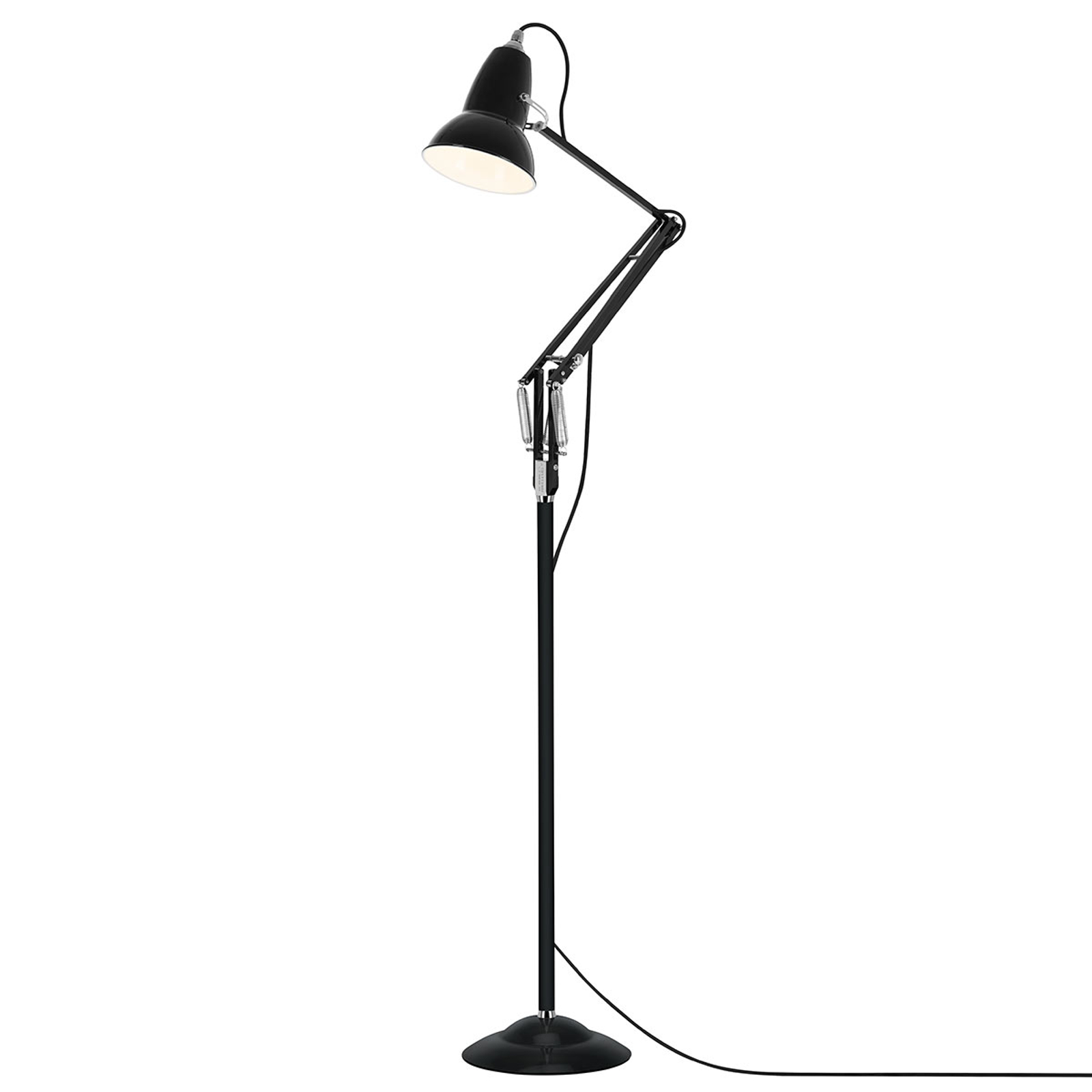 Anglepoise Original 1227 lampadaire noir velours