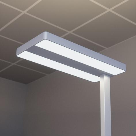 Lampadaire LED de bureau Logan avec variateur