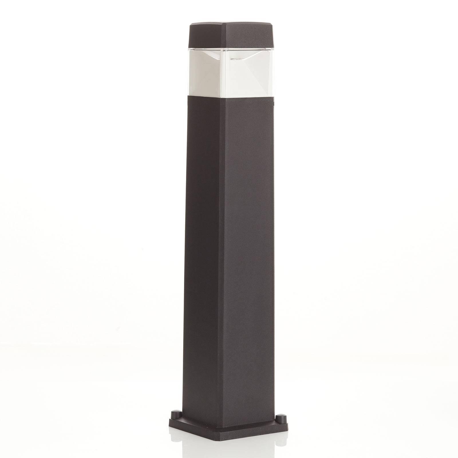 Słupek oświetleniowy LED Elisa 800, czarny 10W CCT