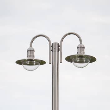 Lyktestolpe Damion med 2 lampehoder