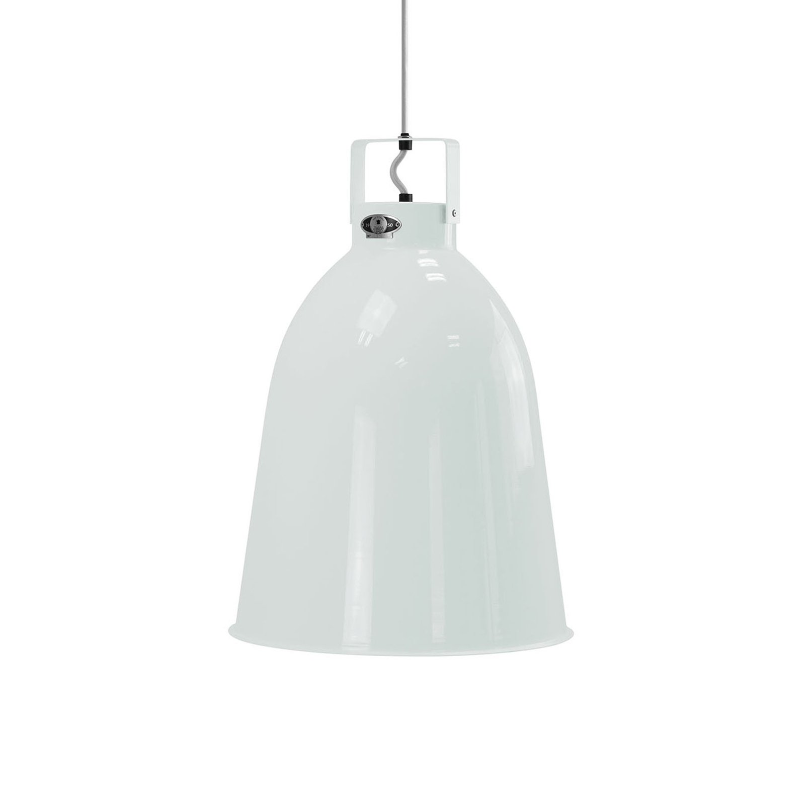 Jieldé Clément C360 lampa wisząca biała Ø 36cm