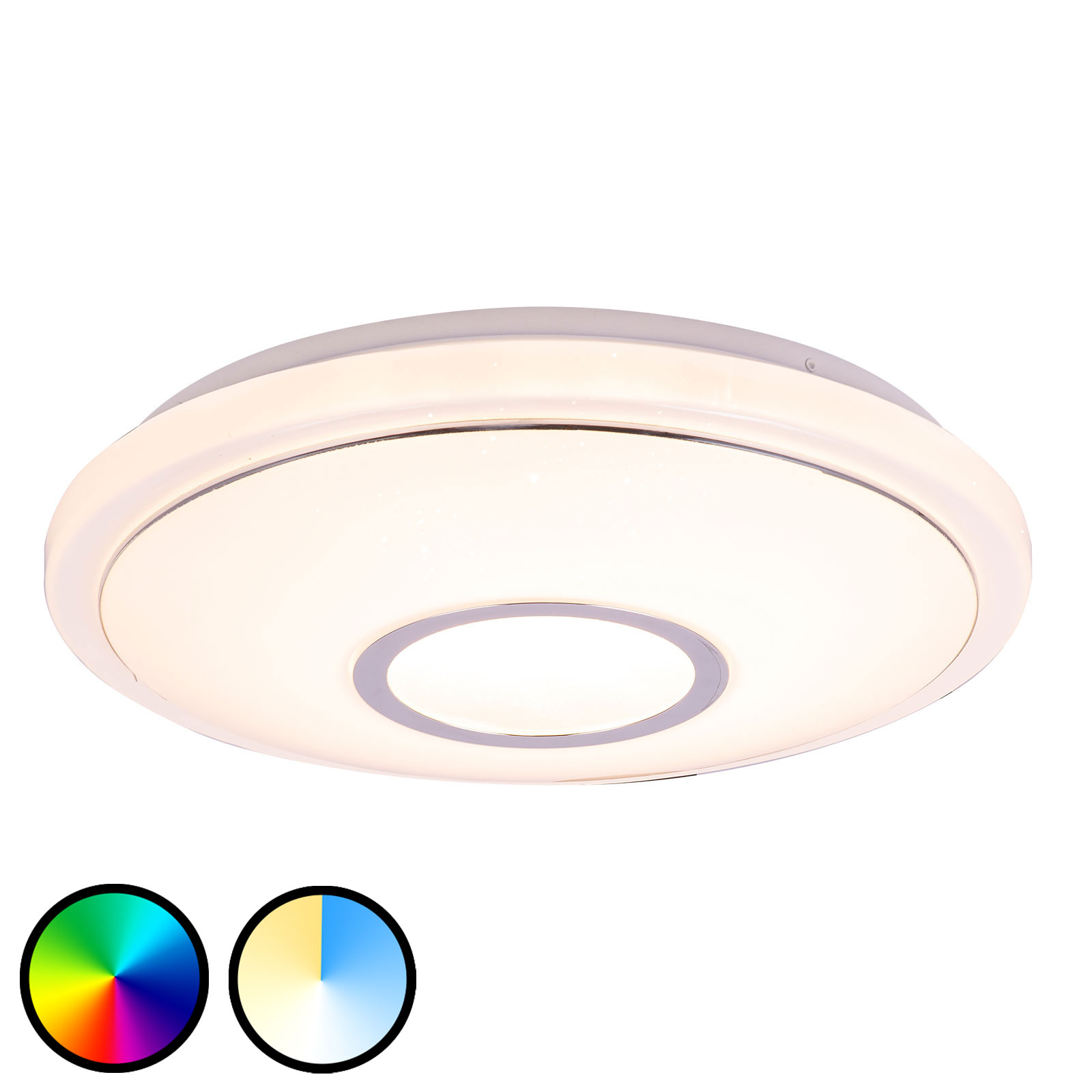 LED-Deckenleuchte Conner, Tuya-Smart, Ø 40 cm
