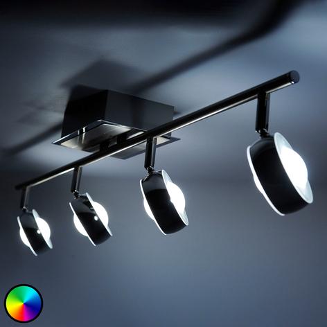 LED-Deckenleuchte Majvi mit verstellbarem Licht