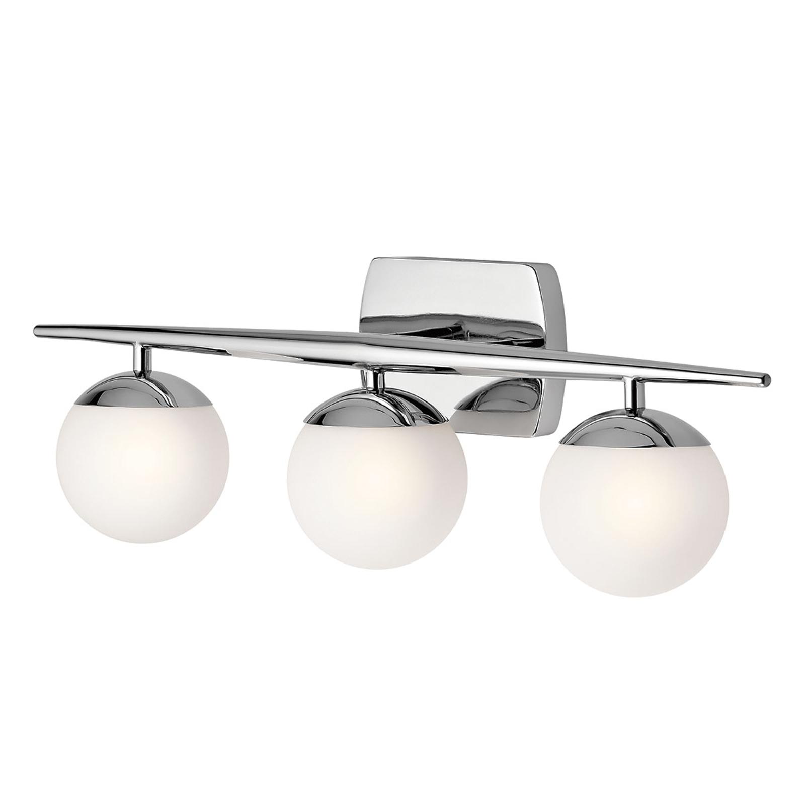 Applique pour salle de bain LED Jasper à 3 lampes