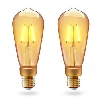 Innr żarówka LED E27 filament Edison 4,2W 2 szt.