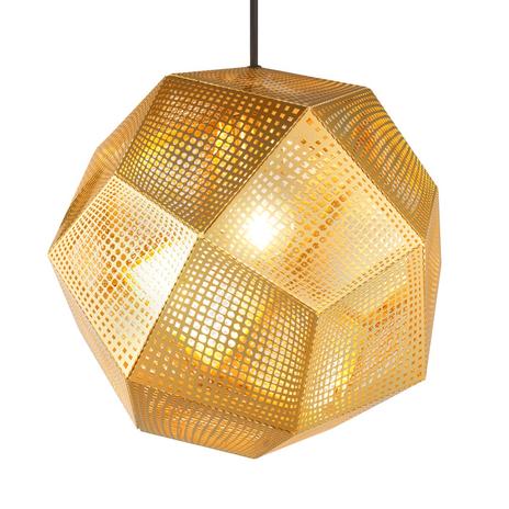 Lampa wisząca Etch, geometryczne kształty
