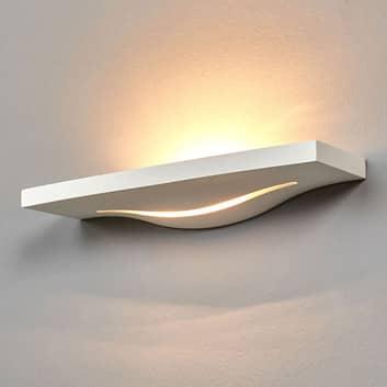 Attraktiv uplight-lampe Lilia af gips til væggen