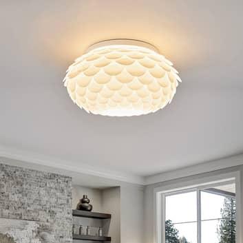 Loftlampe Marees i hvid, rund