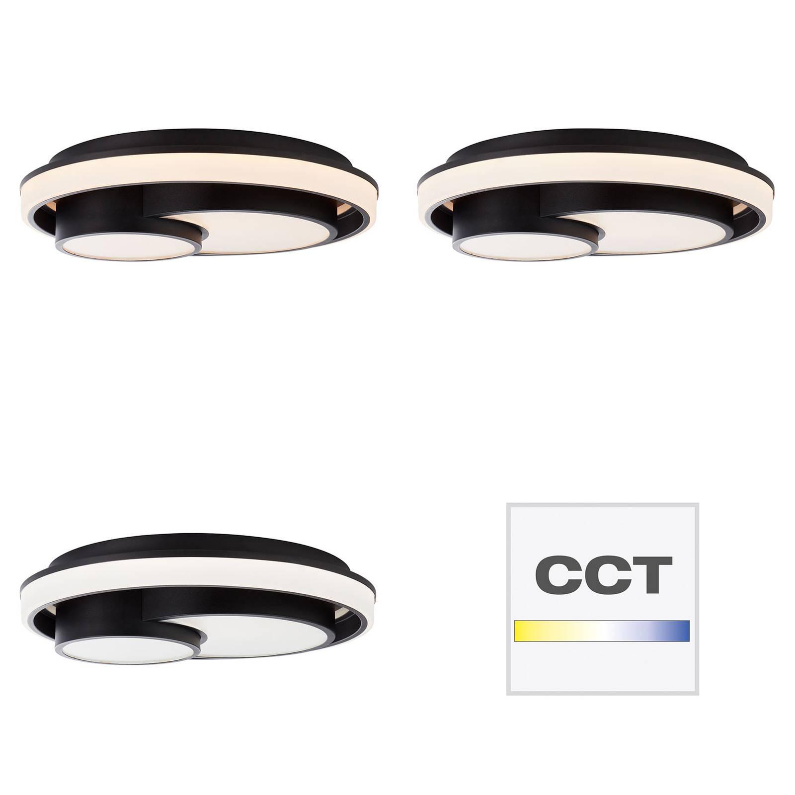 AEG Dwain LED-Deckenleuchte, dimmbar, CCT, Remote