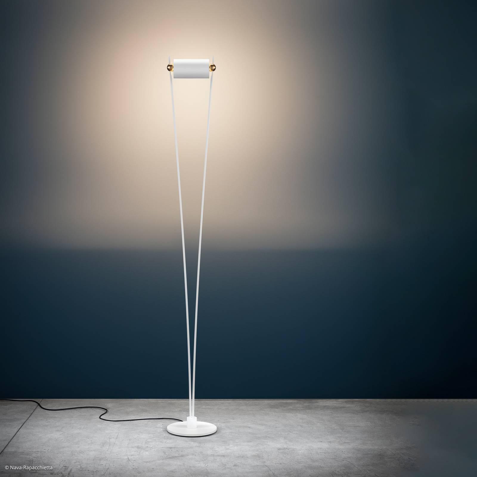Catellani & Smith Vi. LED-Stehleuchte weiß