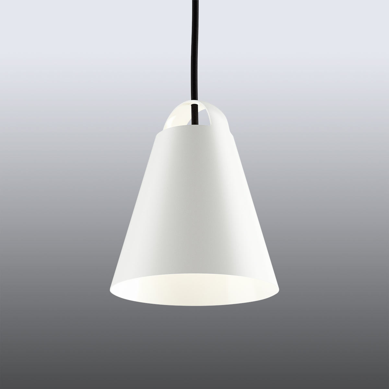 Louis Poulsen Above Pendellampe, weiß, 17,5 cm