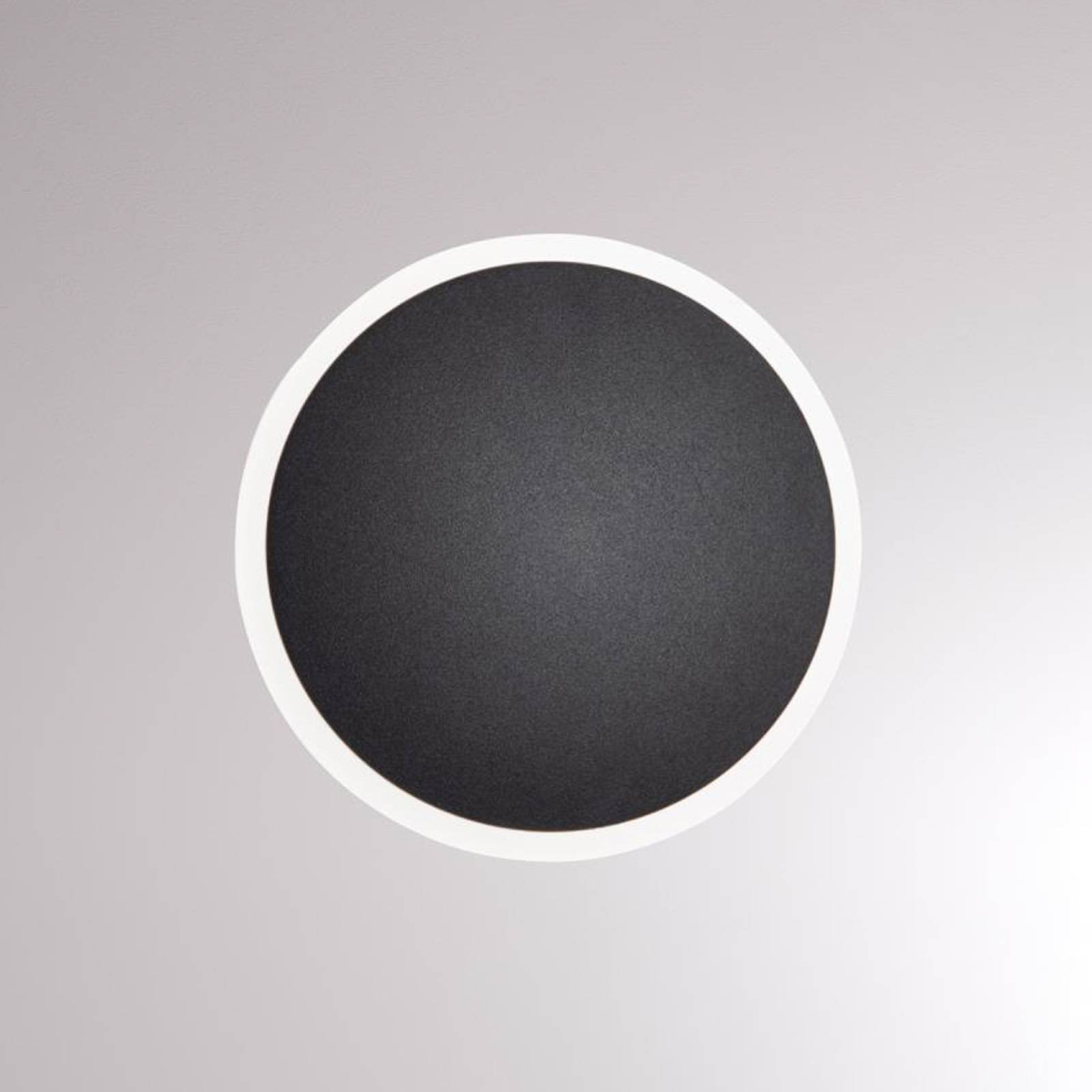 LOUM Pegato LED-Wandleuchte schwarz