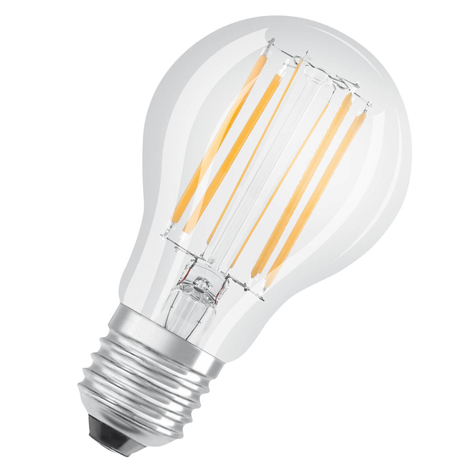 OSRAM LED-Lampe E27 9W ClassicA 2.700K klar dimmb.