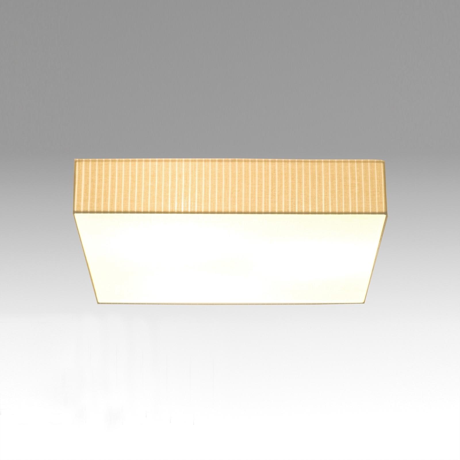 Plafondlamp Onda, 45 x 45 cm