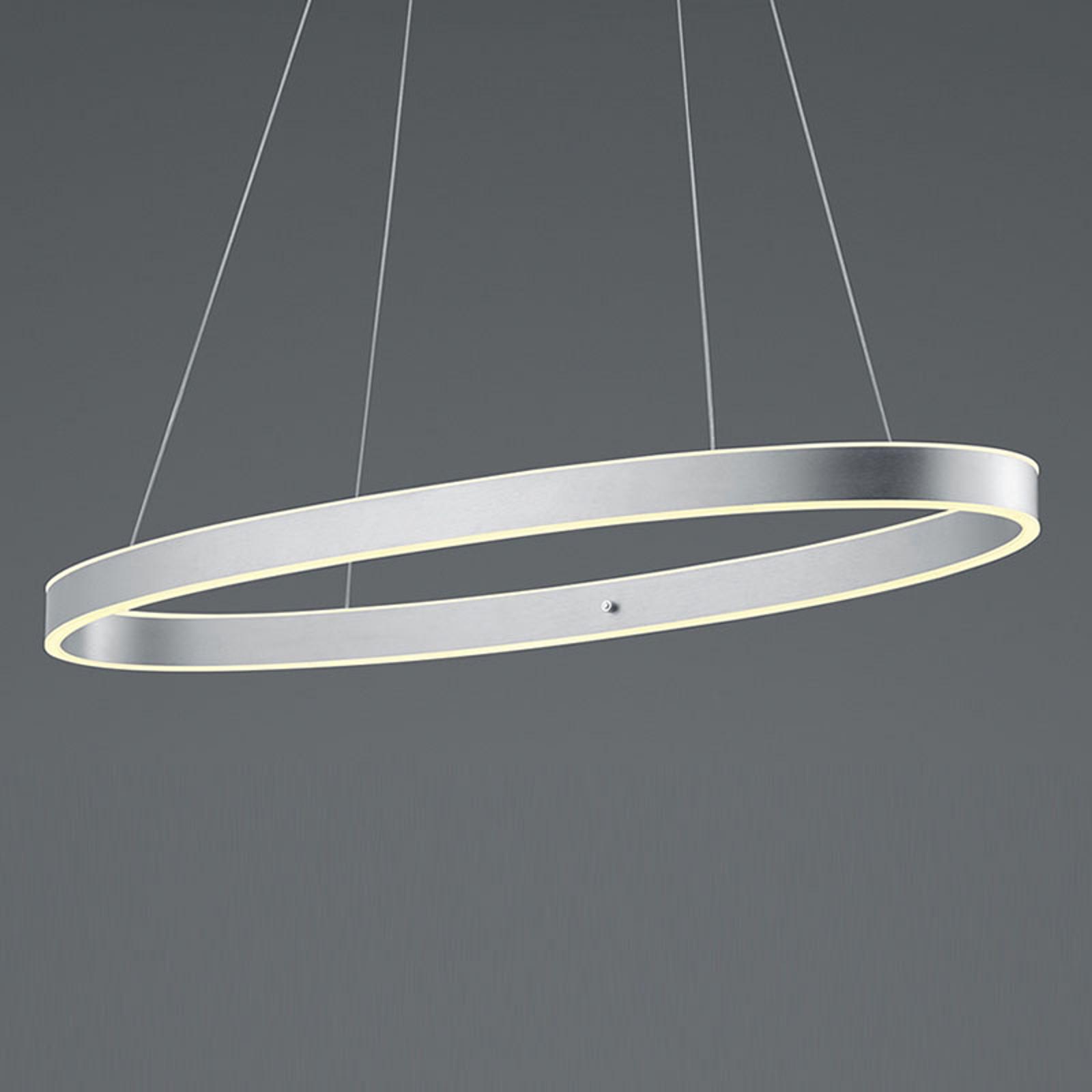 B-Leuchten Delta LED-Hängeleuchte, aluminium matt