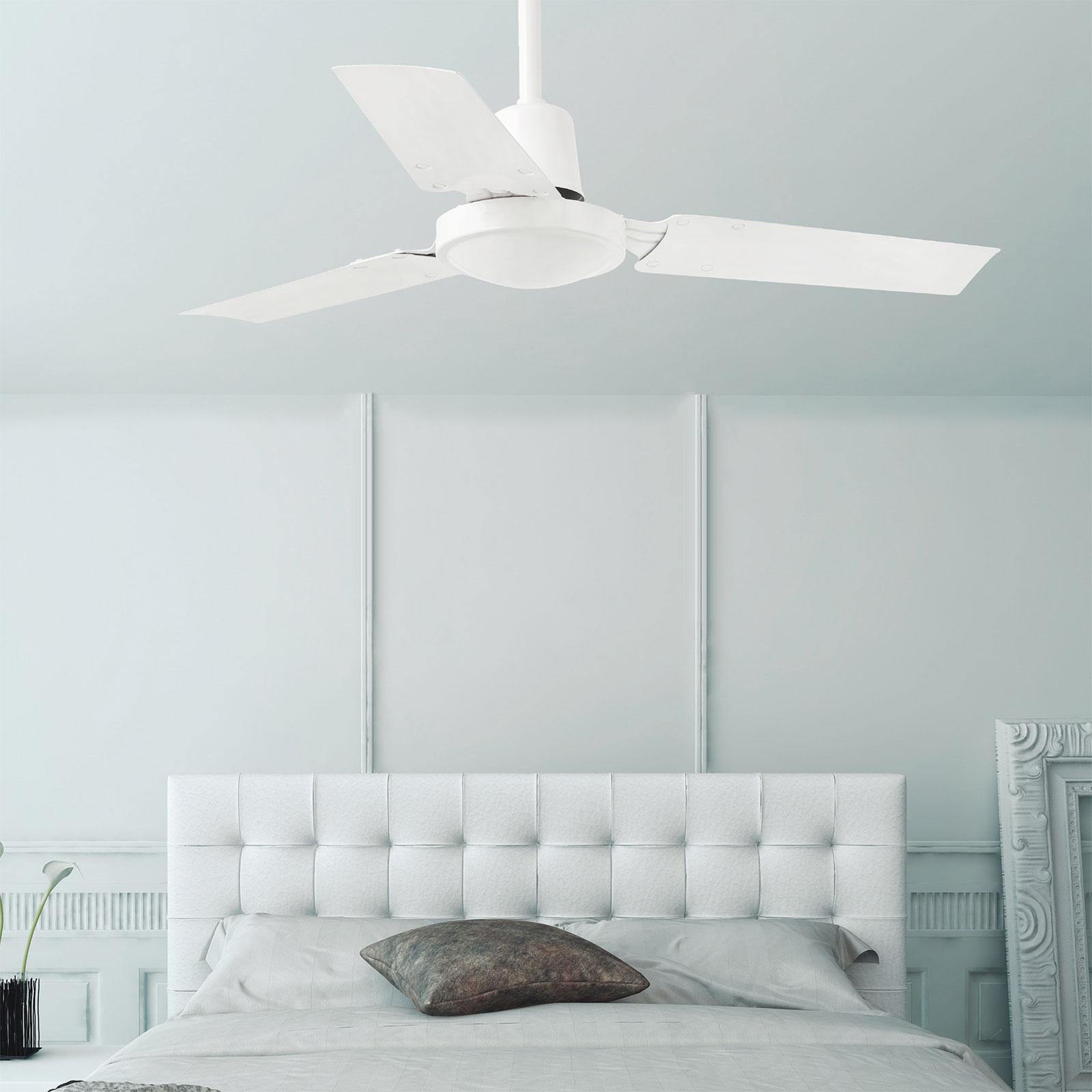 Picture of: Lille Moderne Mini Indus Loftventilator Lampegiganten Dk
