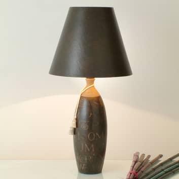Stemningsskapende bordlampe Carattere Alta