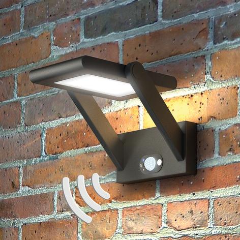 Solarbetriebene LED-Außenwandlampe Valerian