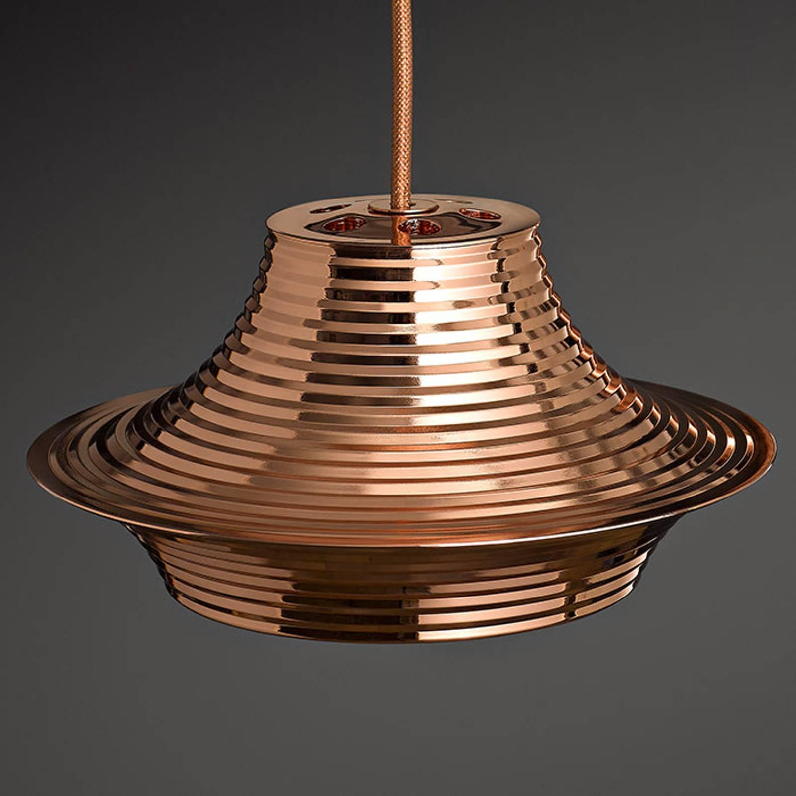 Bover Tibeta 03 - suspension LED, cuivrée