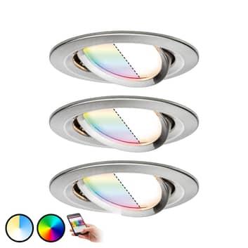 Paulmann Smart Friends spot Nova Plus 3-er RGBW