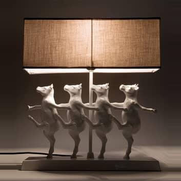 DANCING COWS, den artige bordlampen