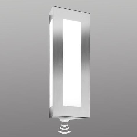 Dekorativ Lija udendørs væglampe med sensor