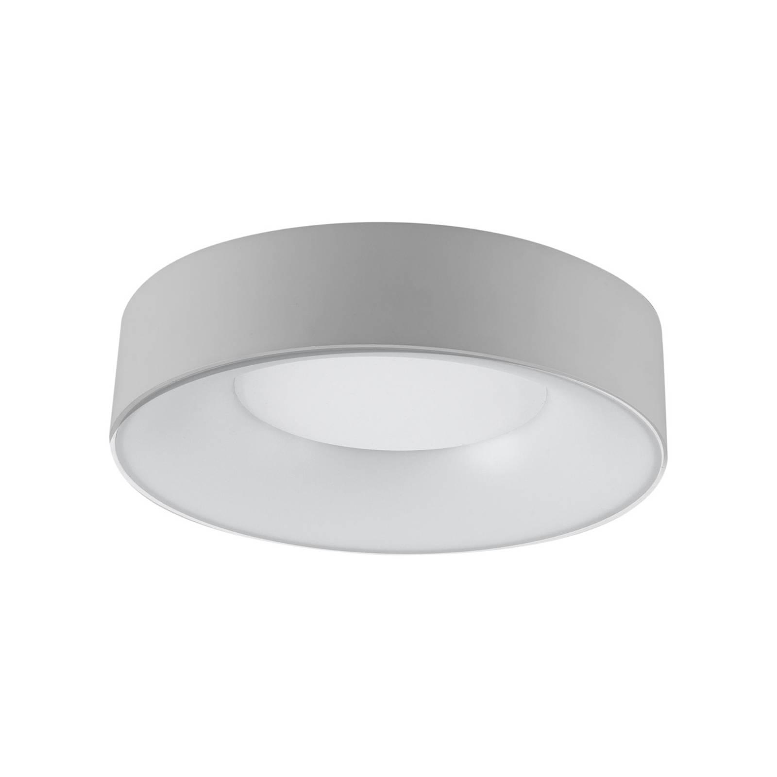 LED-Deckenleuchte R30, Ø 30 cm, silber