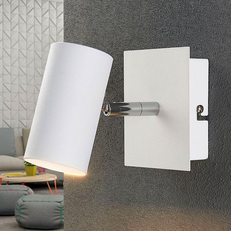 Weißer LED-Spot Iluk für Wand und Decke