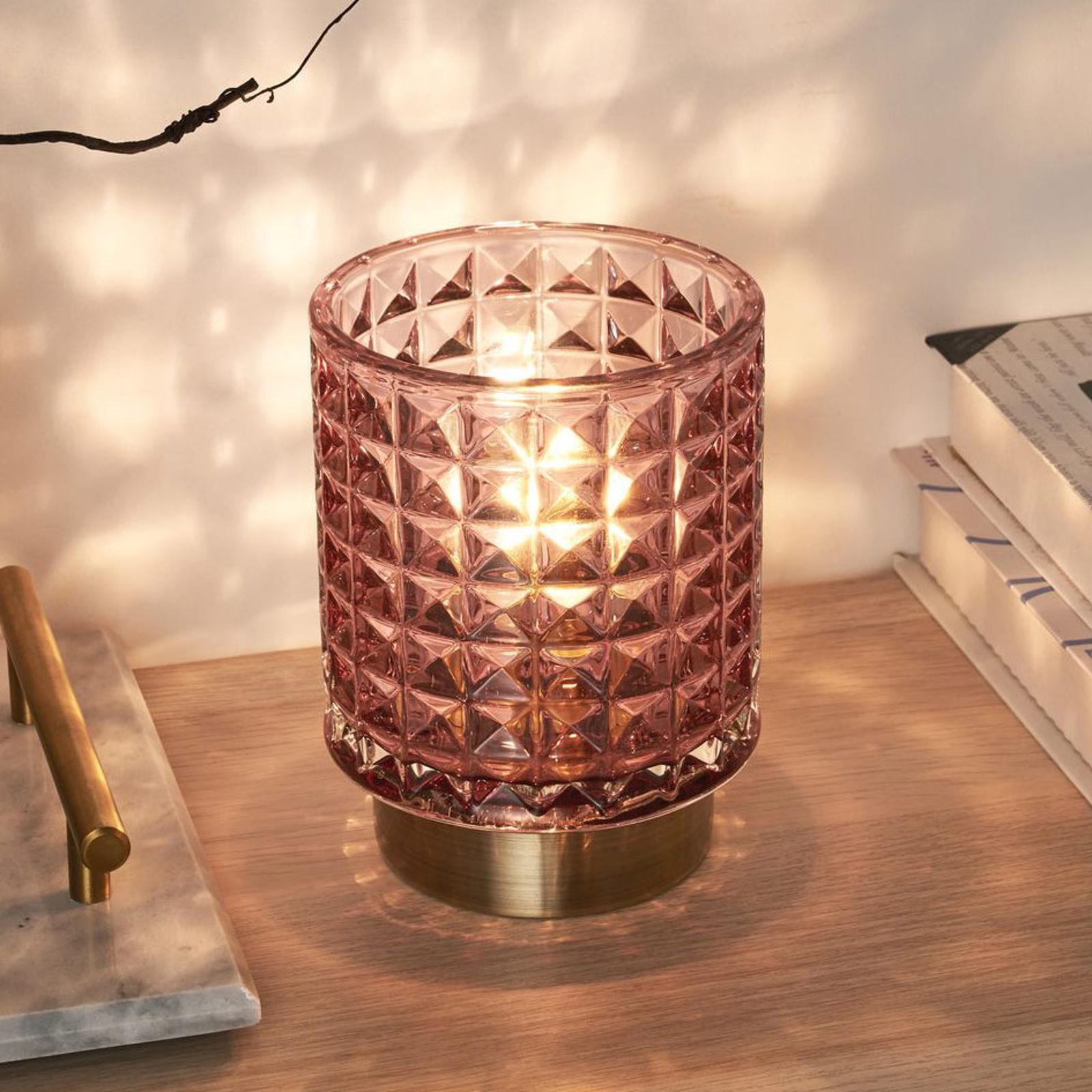 Pauleen Cute Glamor LED-bordlampe, batteri