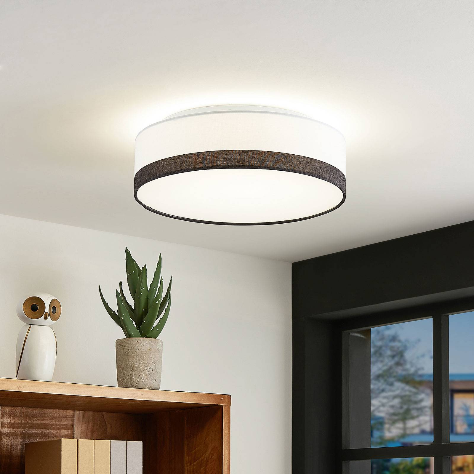 Lindby Laia LED plafondlamp, Ø 38cm