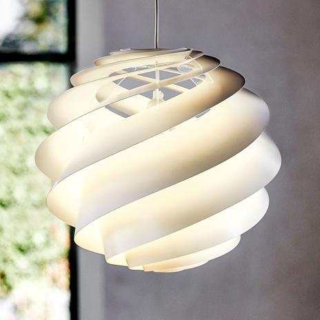 LE KLINT Swirl 3 - designerska lampa wisząca biała