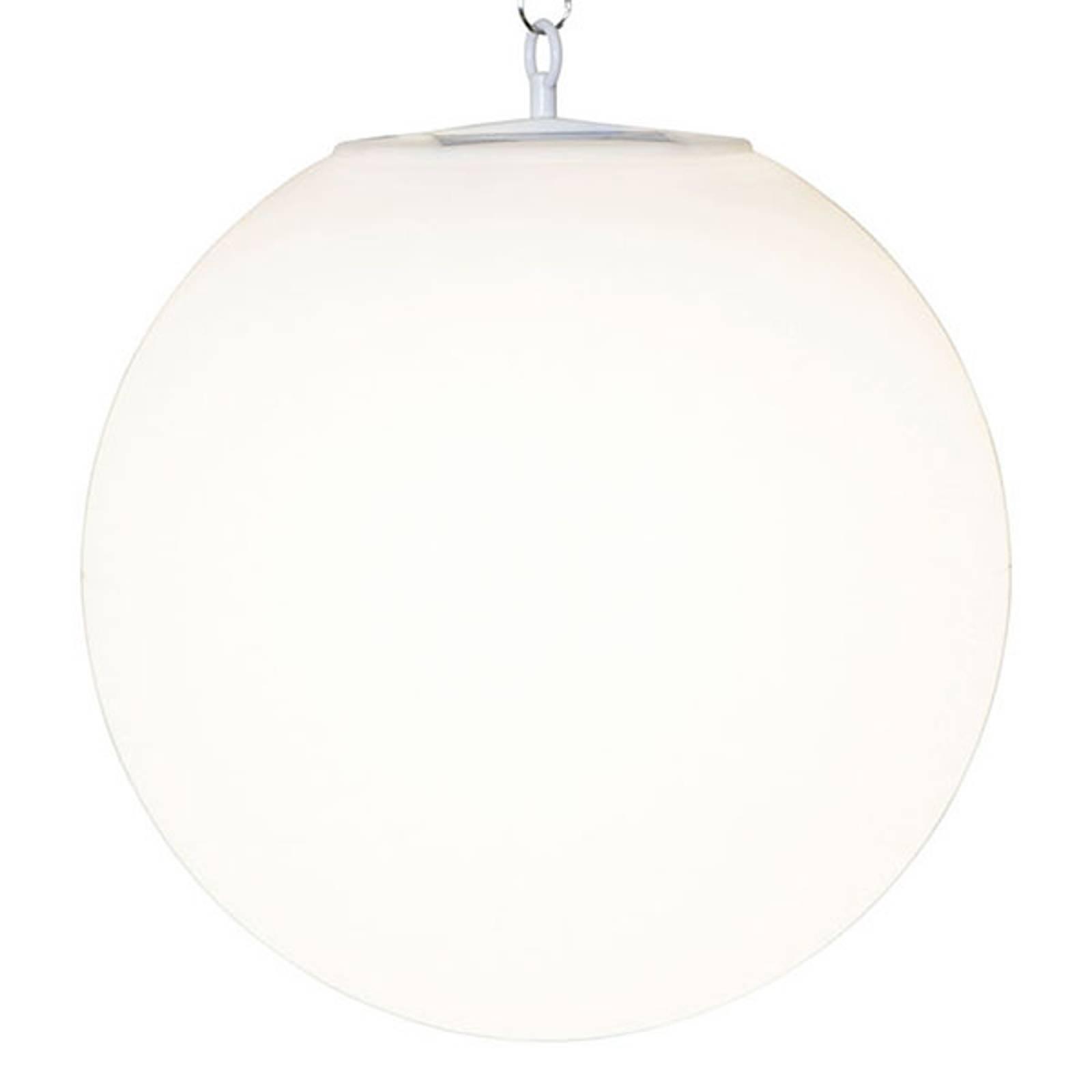 Lampada LED solare a sospensione Globy, sfera