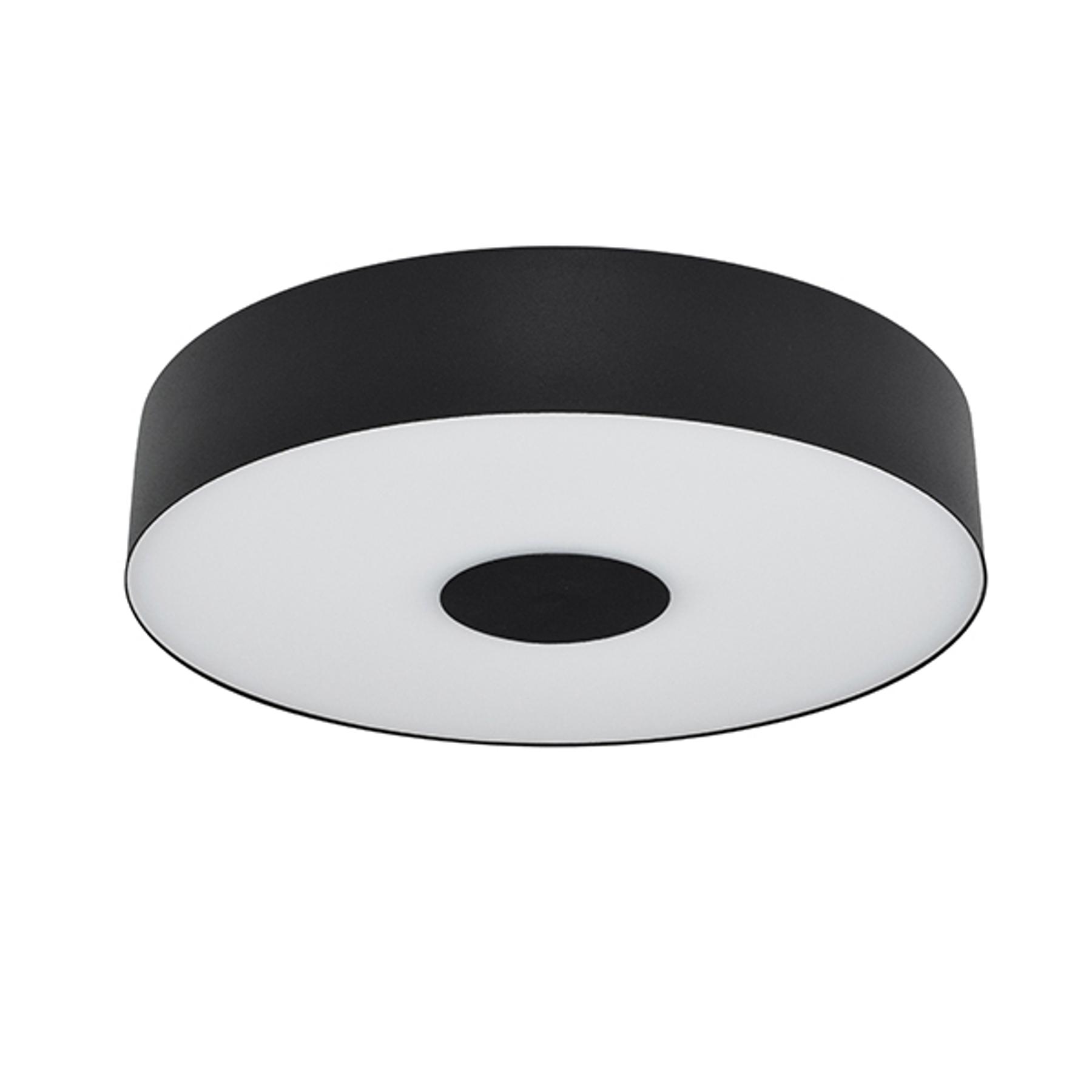 LED-Deckenleuchte Cleopatra Ø 40 cm schwarz