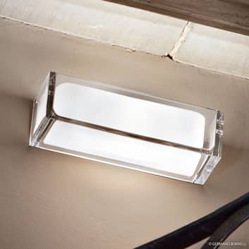 Lampa ścienna Ontherocks ze szkła