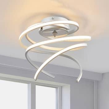 LED-taklampa Lungo aluminium, höjd 25 cm