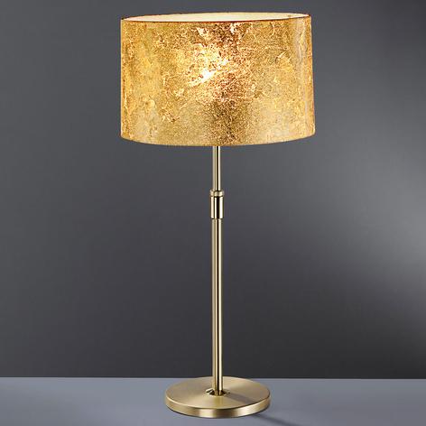 Lámpara de mesa Loop 55, pan de oro, altura 75 cm
