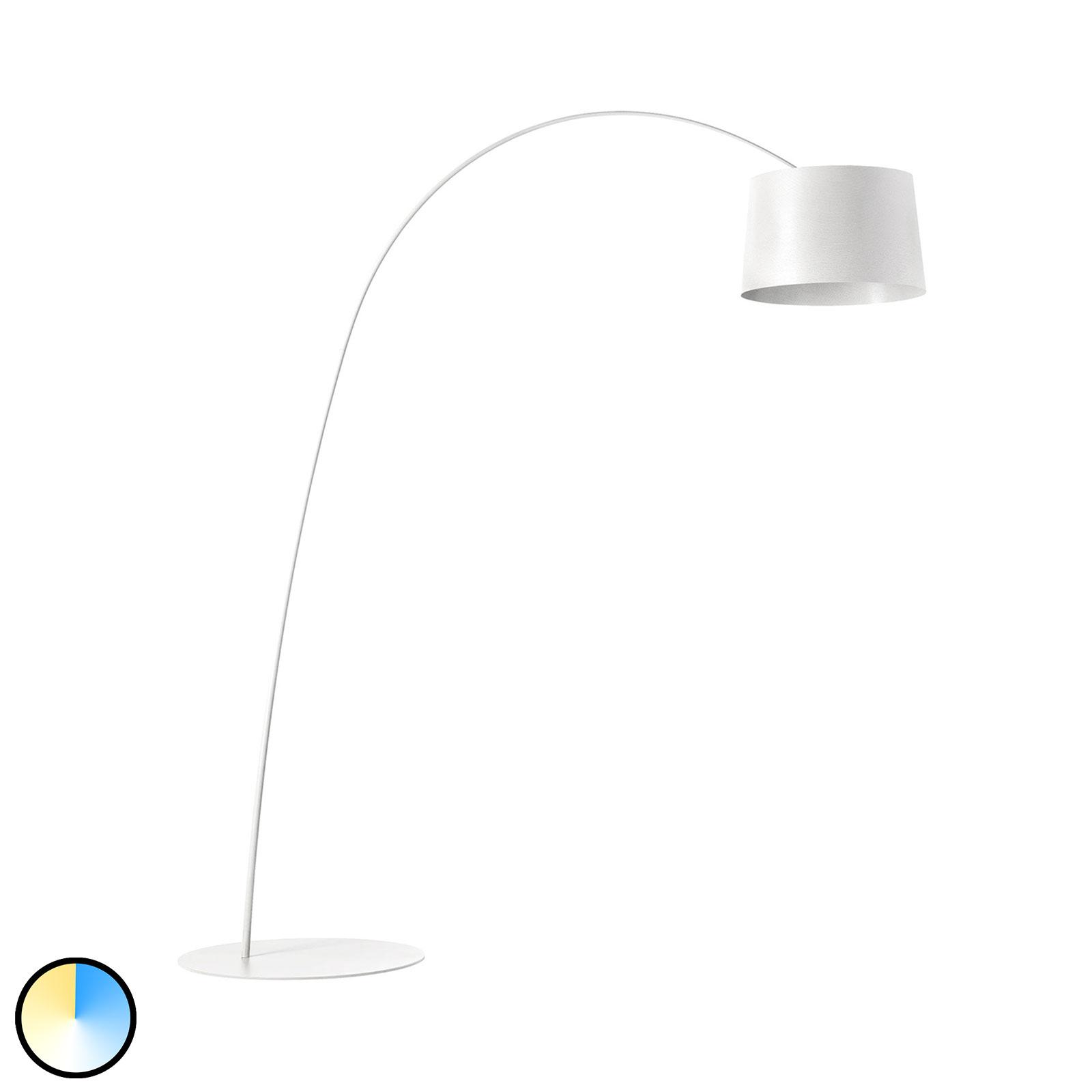 Foscarini MyLight Twiggy LED-båglampa, vit