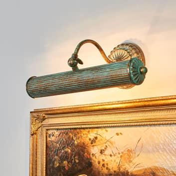 Lámpara para cuadros Joely en diseño envejecido
