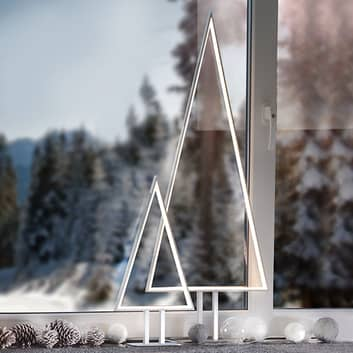Lámpara decorativa LED Pine aluminio 50 cm