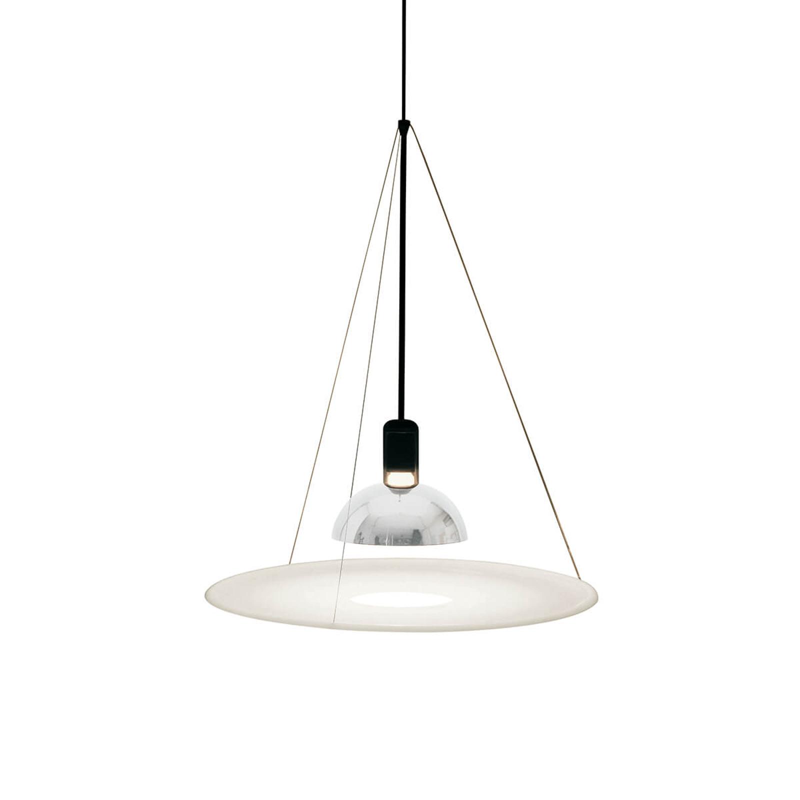 FRISBI pendellampe med hvit skive | Lampegiganten.no