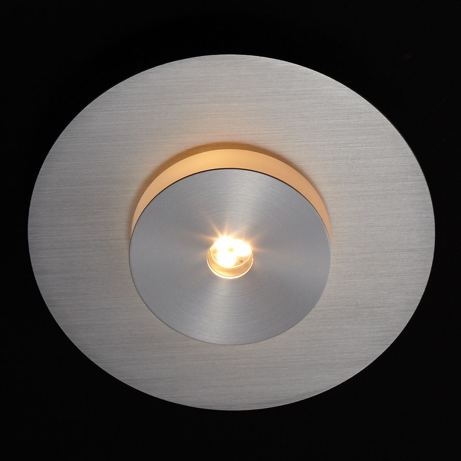LDM Smarty Sun LED-Wand- und -Deckenleuchte, alu