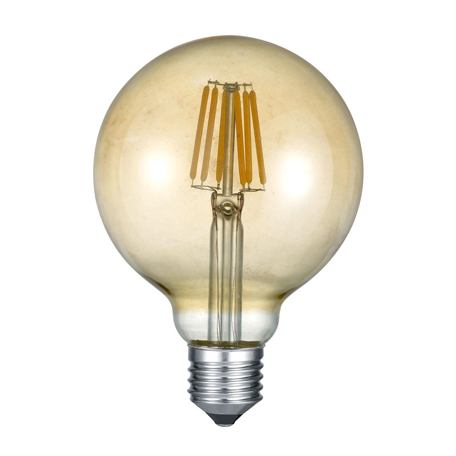 LED-globepære E27 6 W 2700 K rav