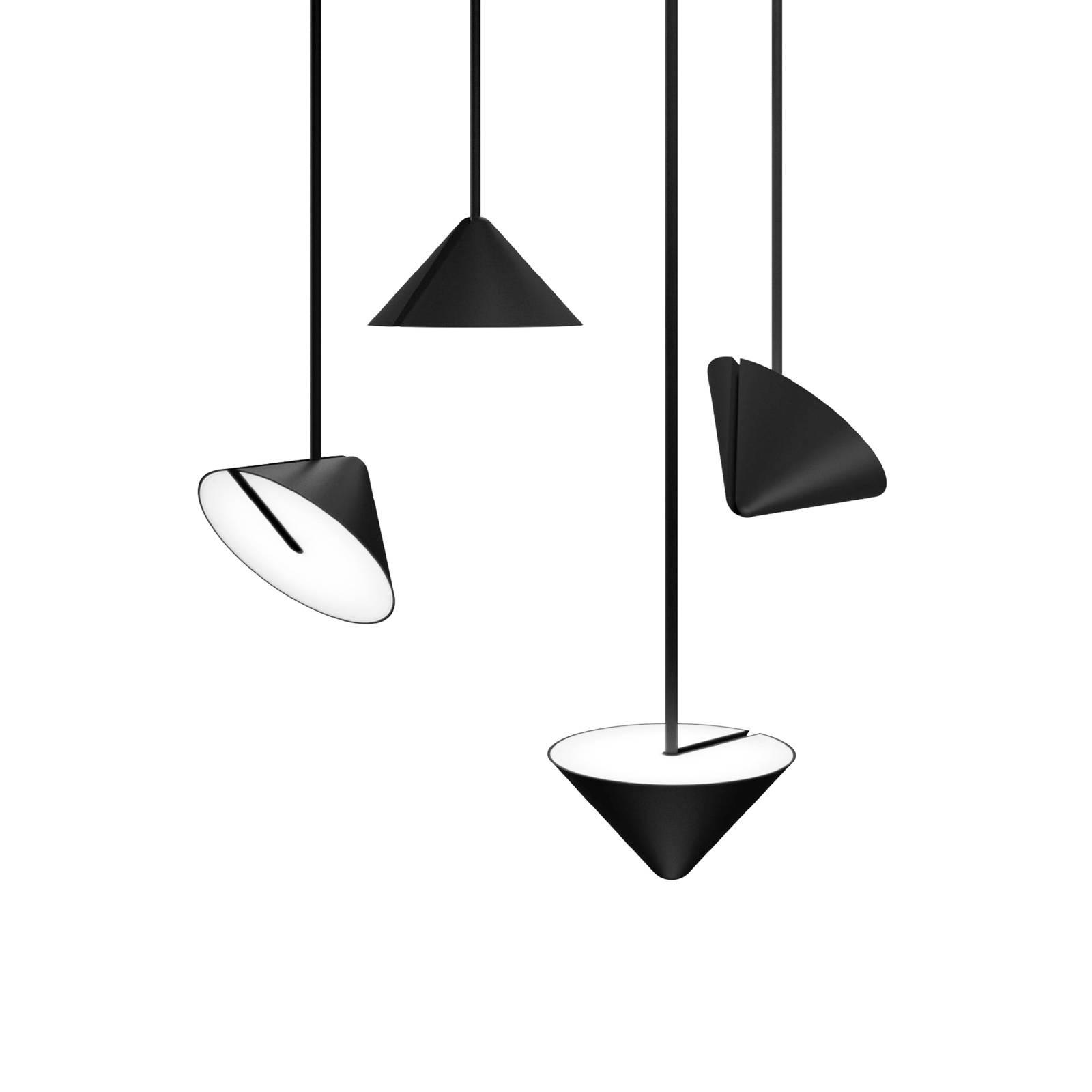 XAL Nod LED-Pendelleuchte, Abhängung 150 cm