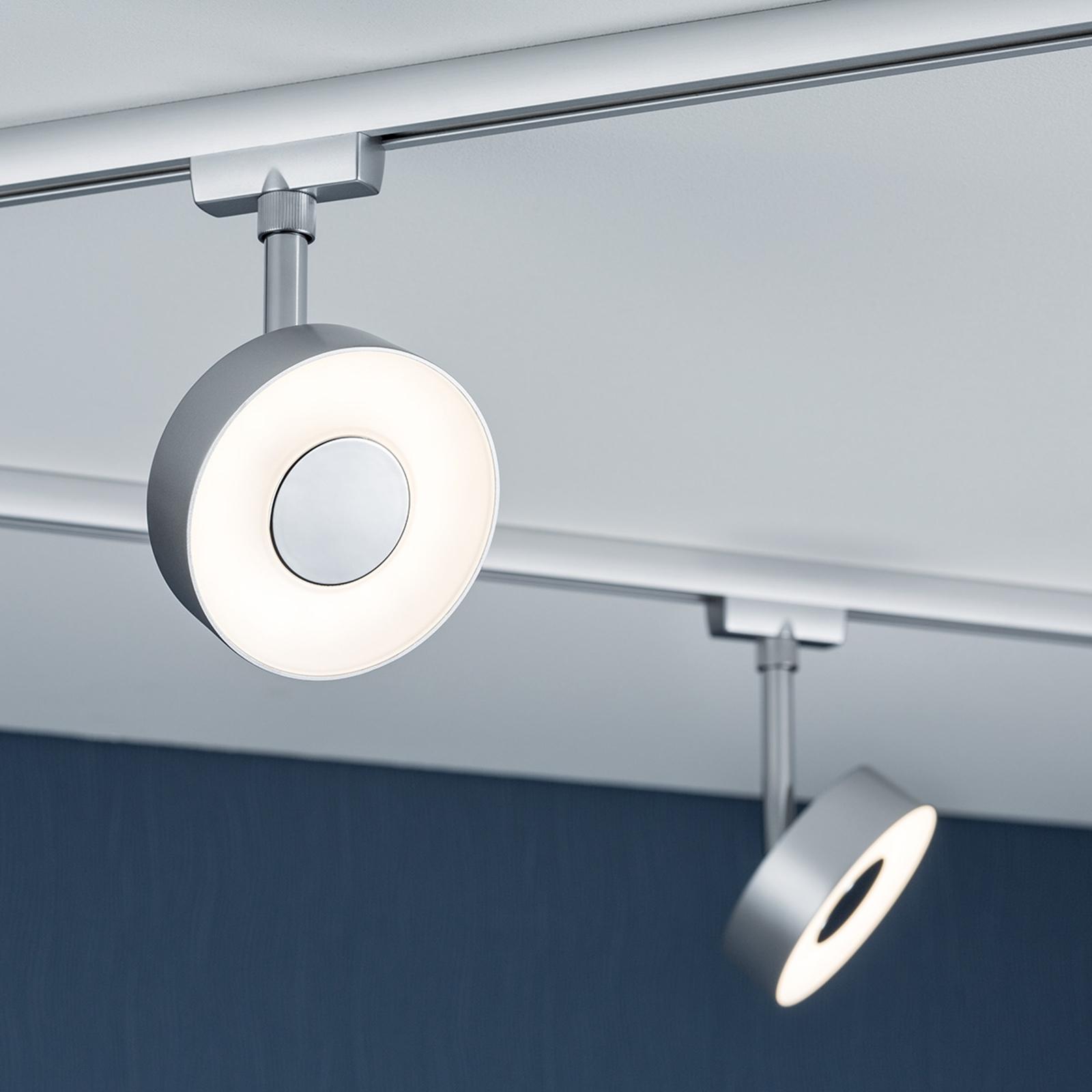 Paulmann URail Circle LED-Spot rond in chroom