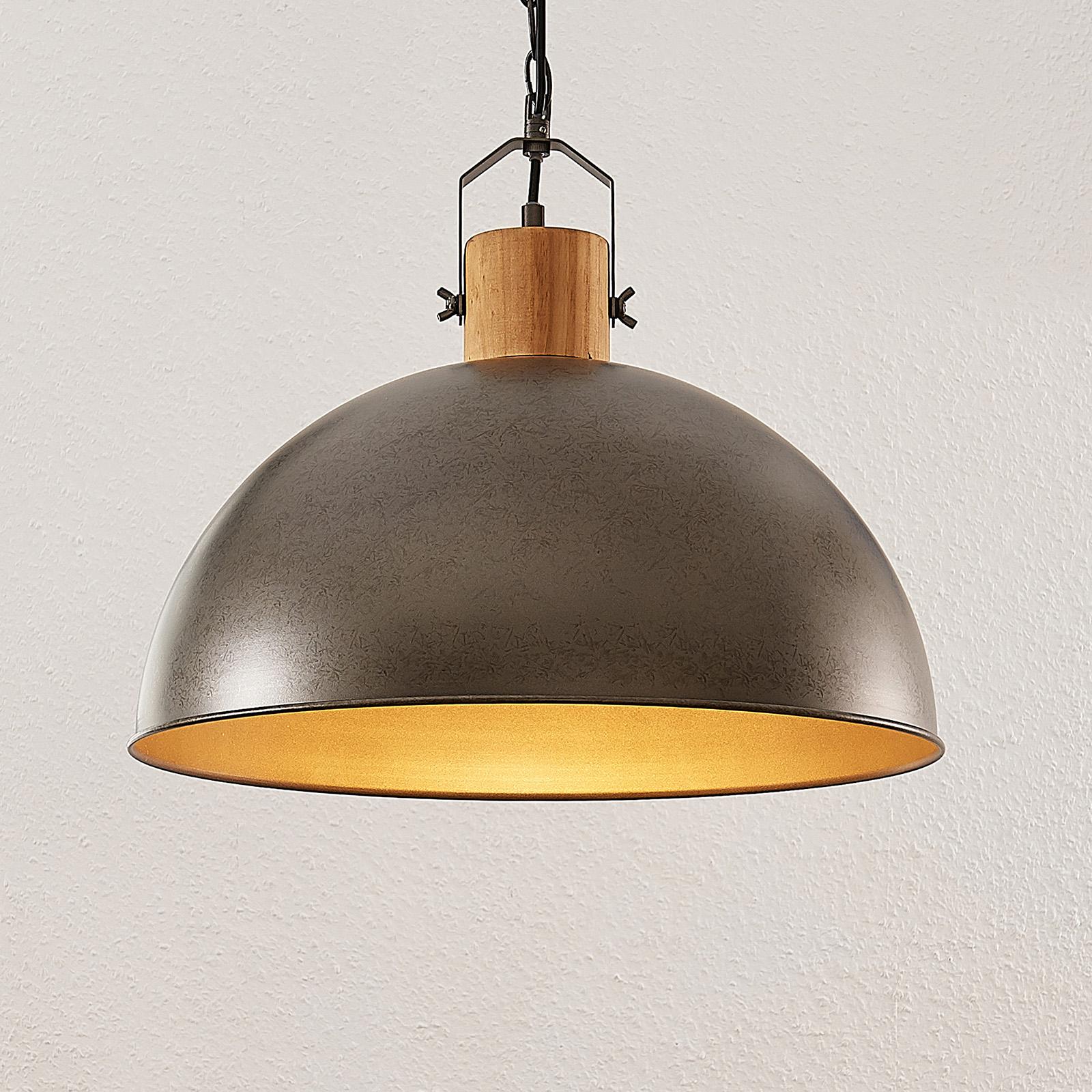 Lindby Holgar Suspension avec abat-jour métallique