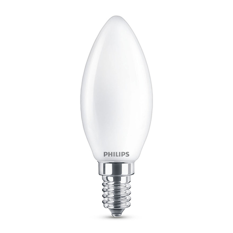 Philips LED Classic WarmGlow E14 B35 4,5 W mate