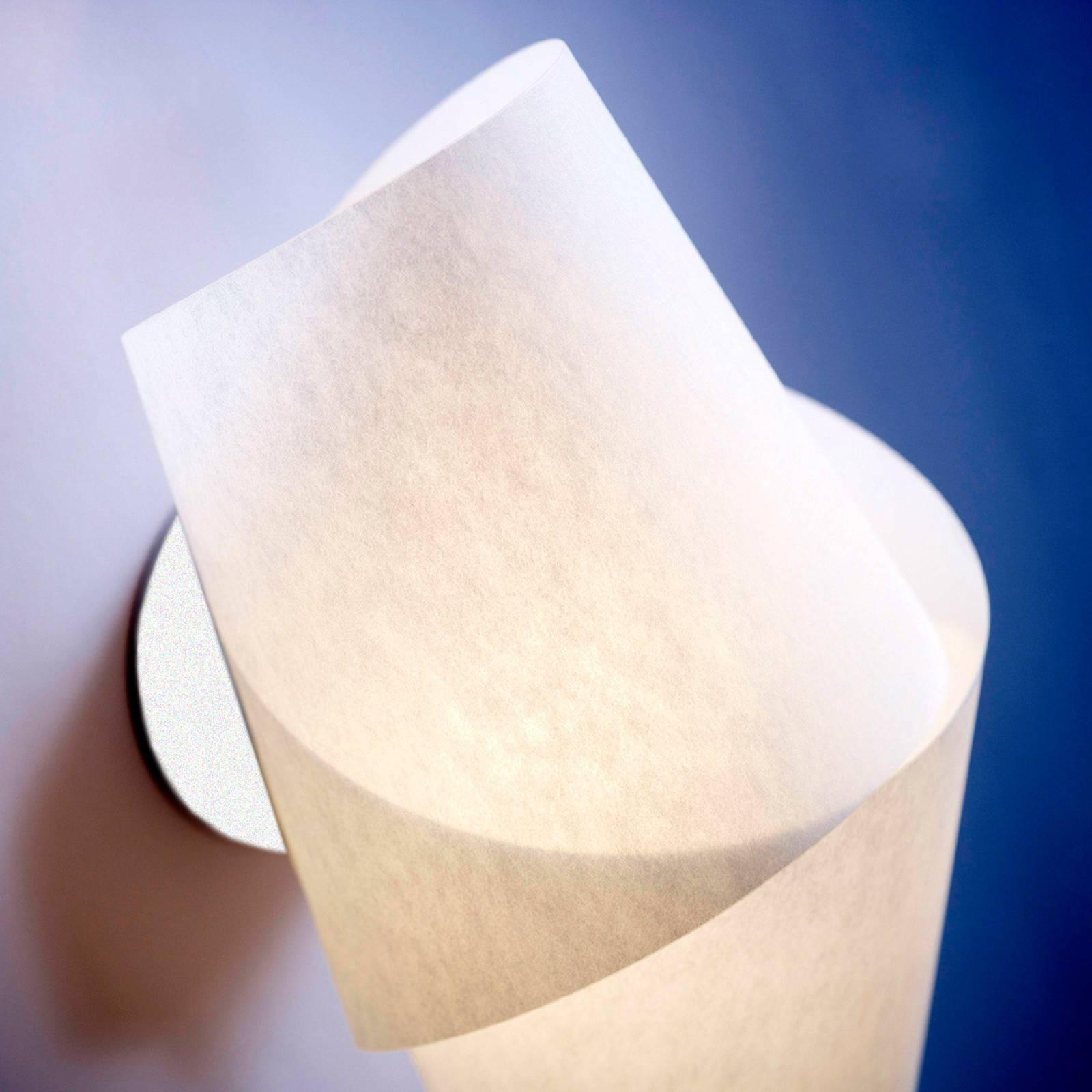 Aantrekkelijke wandlamp Julii wit