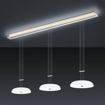 BANKAMP Strada Vanity závěsné světlo, 4ž, 155 cm