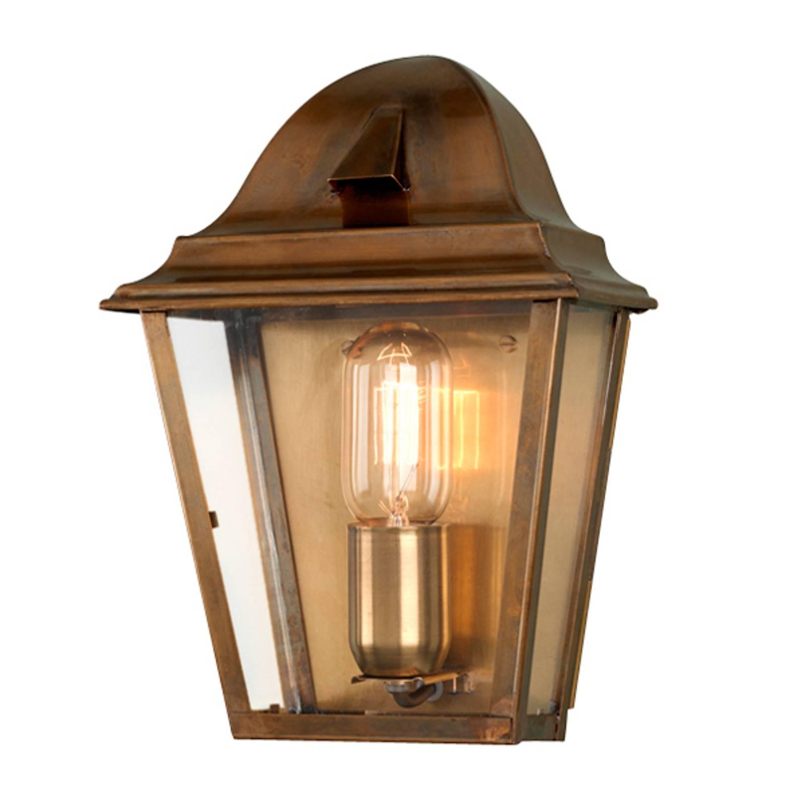 Messing buitenwandlamp St. James Brass